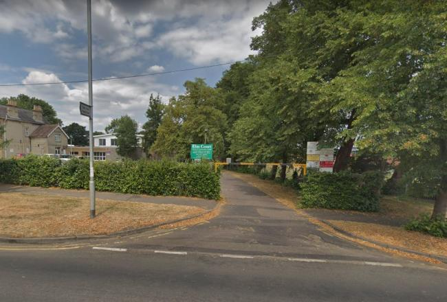 The incident happened at the Elm Court Youth & Community Centre car park (google street view)