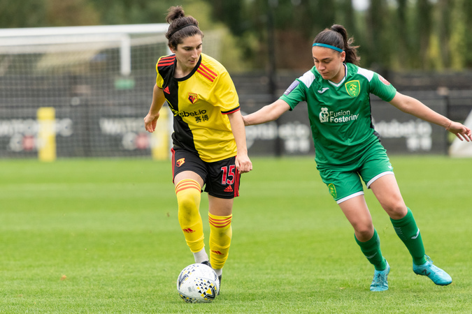 Clinton Lancaster eyeing up top spot for Watford Ladies after MK Dons win