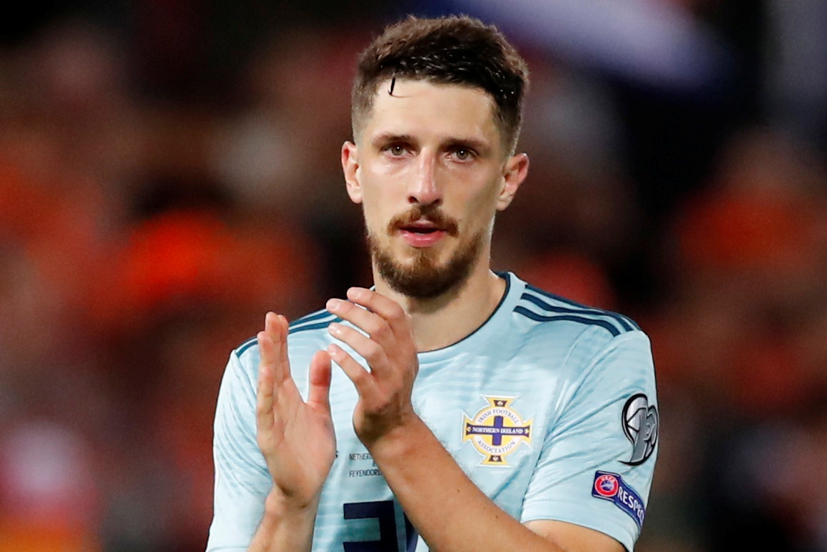 Watford's Craig Cathcart featured in Northern Ireland's friendly win over the Czech Republic