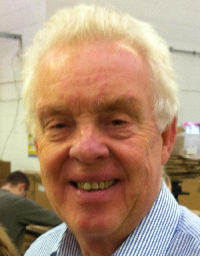 Gordon Sellers, 76. Photo: Watford Workshop