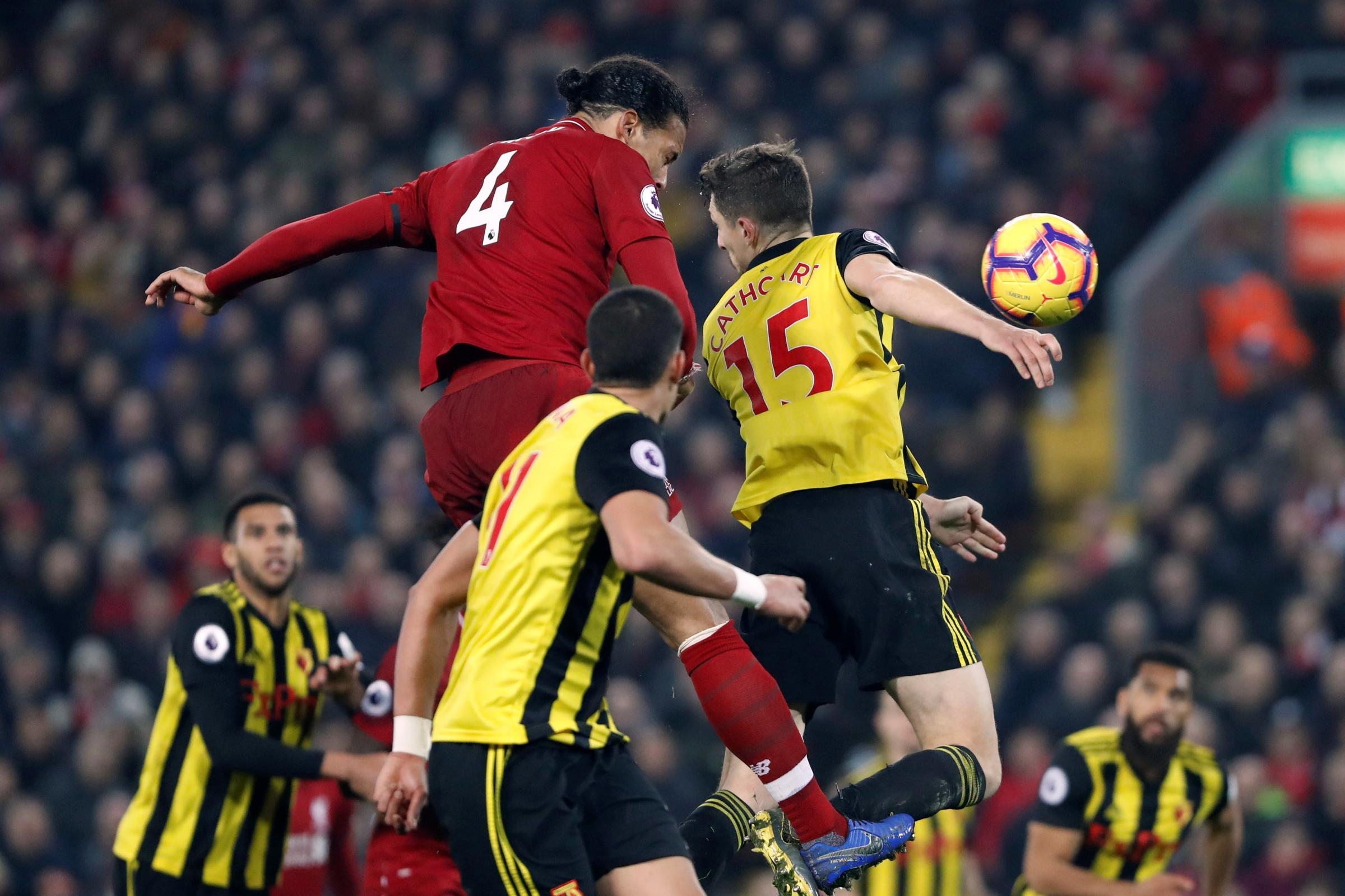 Watford's games with Leicester City and Liverpool have been moved for television
