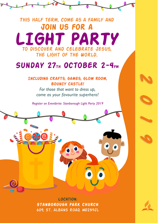 Stanborough Park Light Party