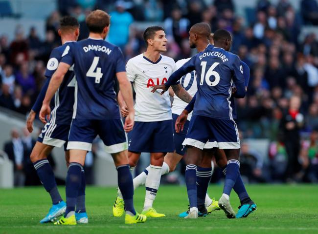 Abdoulaye Doucoure and Christian Kabasele impressed against Spurs. Picture: Action Images