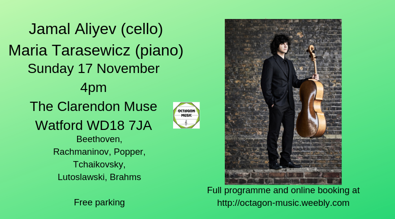 Octagon Music Society - Jamal Aliyev (cello)