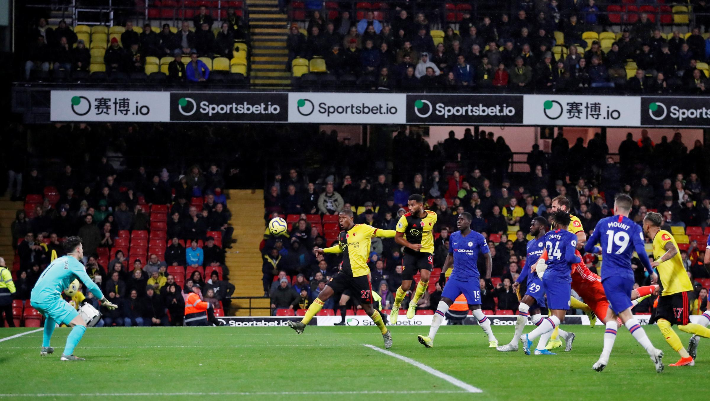 Ben Foster almost snatches a dramatic draw for Watford against Chelsea