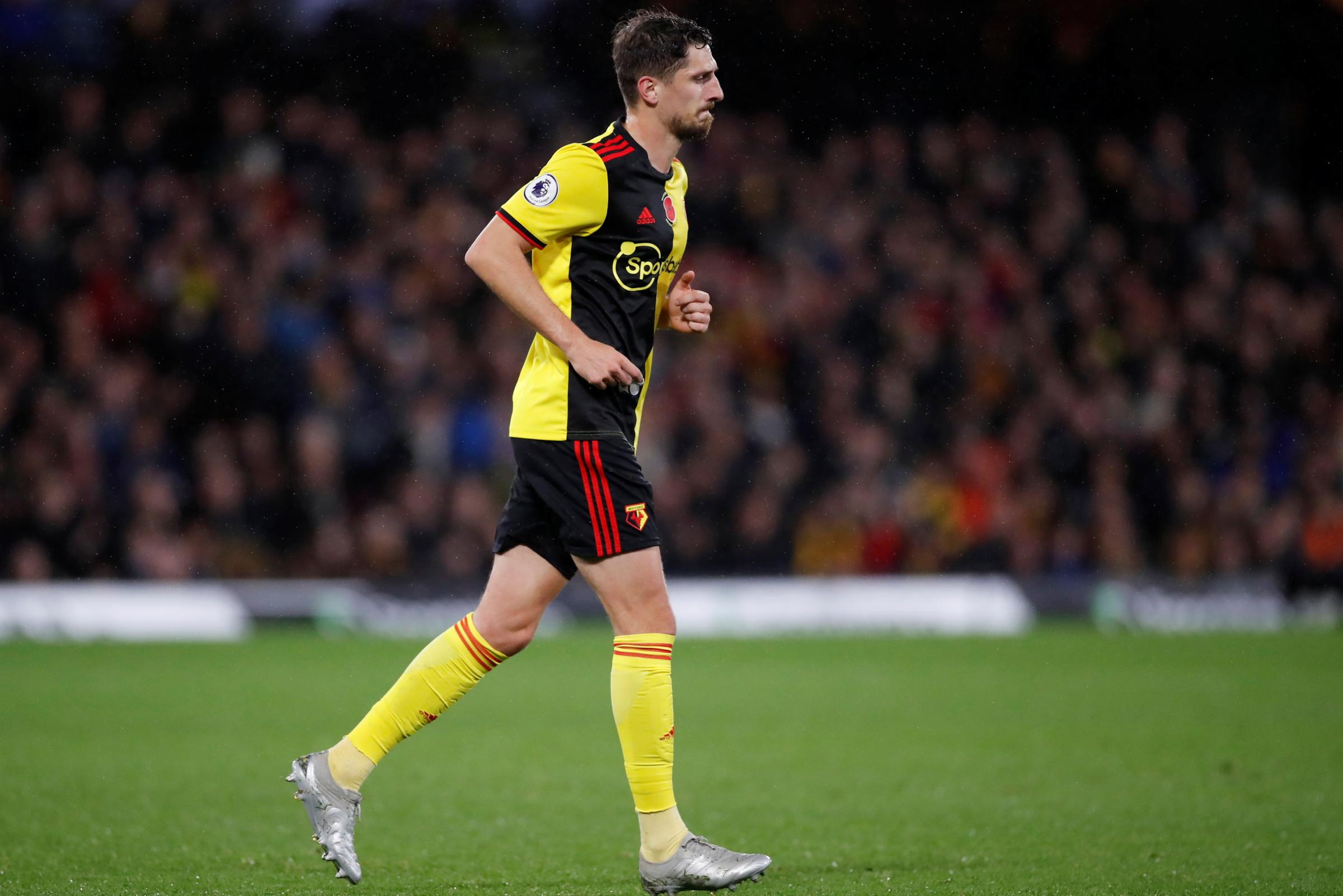 Craig Cathcart suffered back spasm in Watford's defeat to Chelsea, Quique Sanchez Flores claims