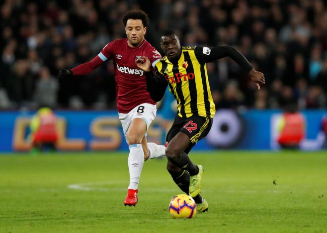 Ken Sema playing for Watford. Picture: Action Images
