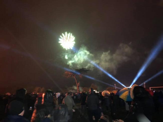 Cassiobury Park fireworks. Photo: Sana Mahmood