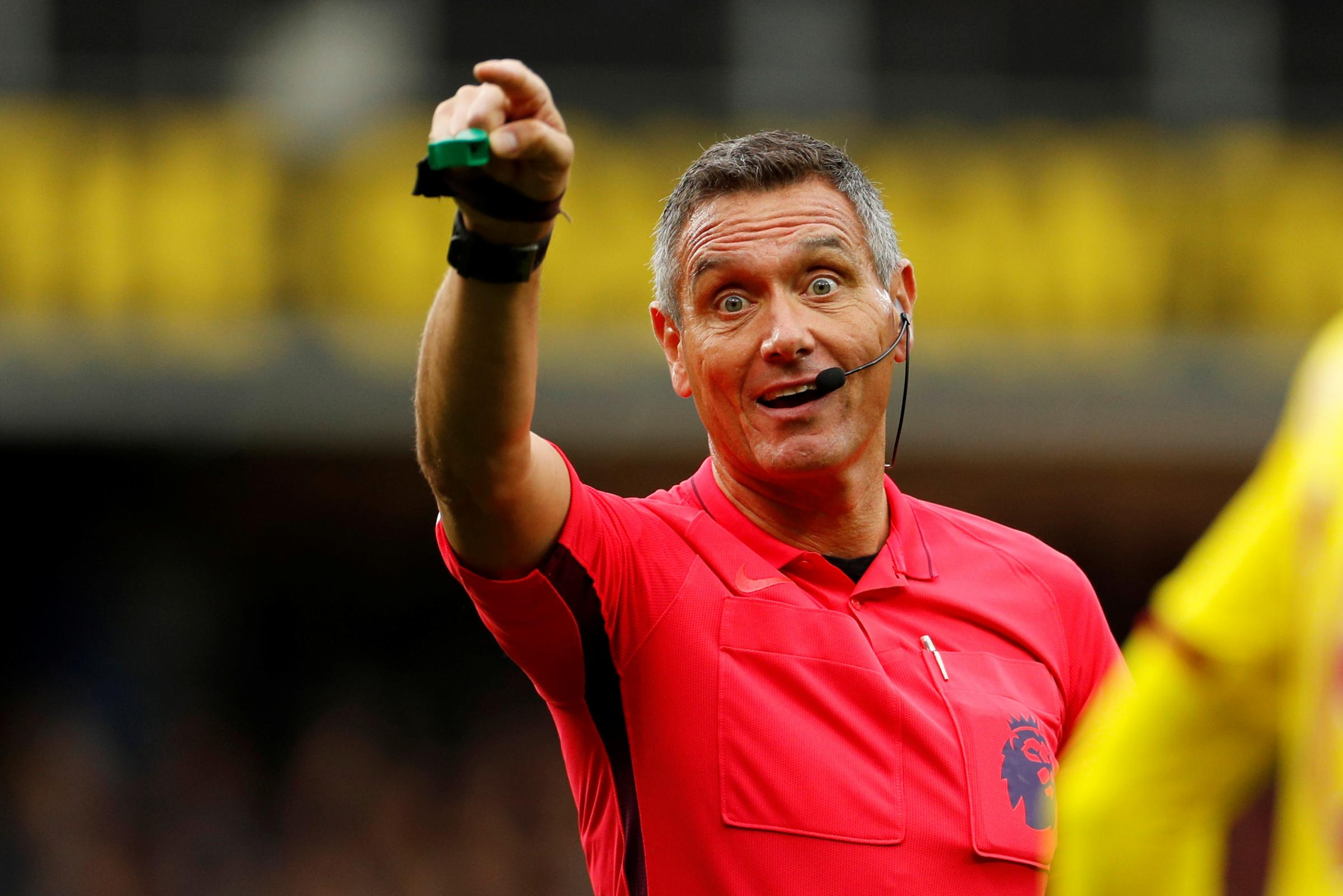 Andre Marriner in charge for Watford's game against Norwich City