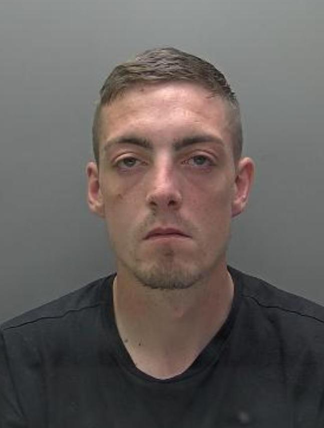 Kane Fanelli (pictured) was jailed (credit Herts Police)