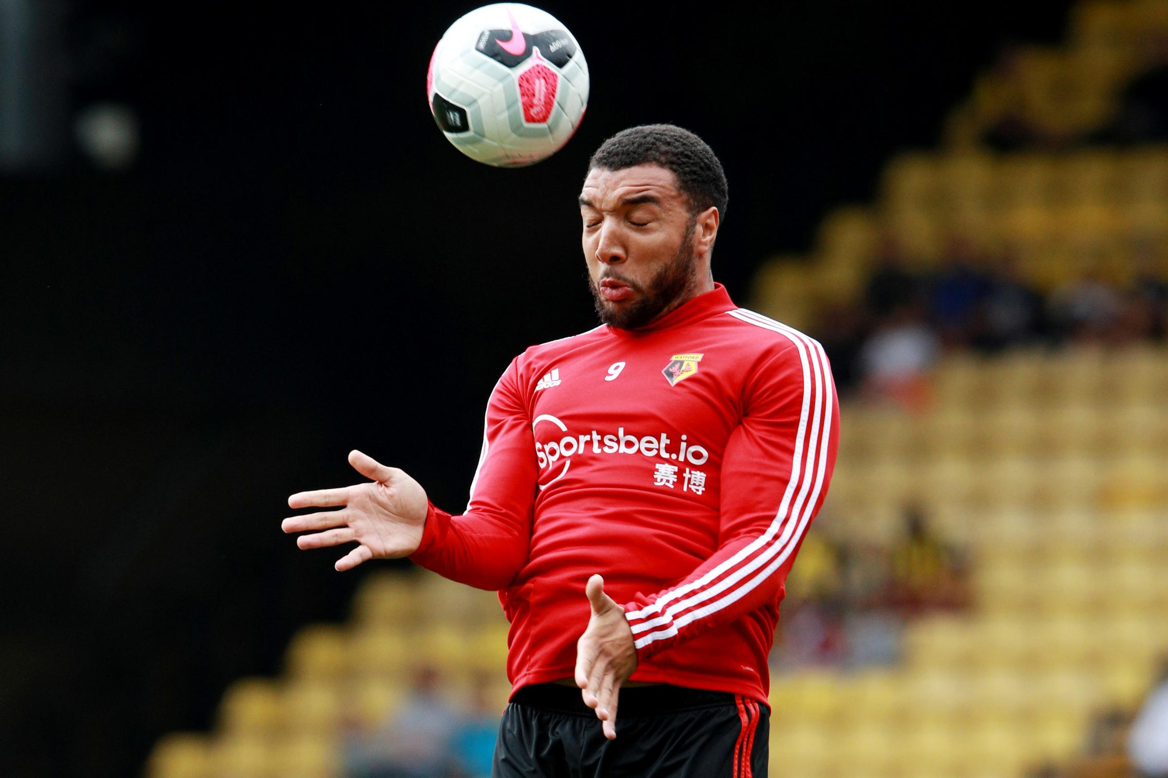 Troy Deeney will be part of Watford's matchday squad to face Norwich City