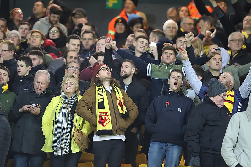 A selection of images from Watford's win at Norwich City