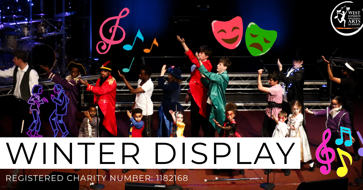 Winter Display/ Performance | West London Performing Arts Academy Charity