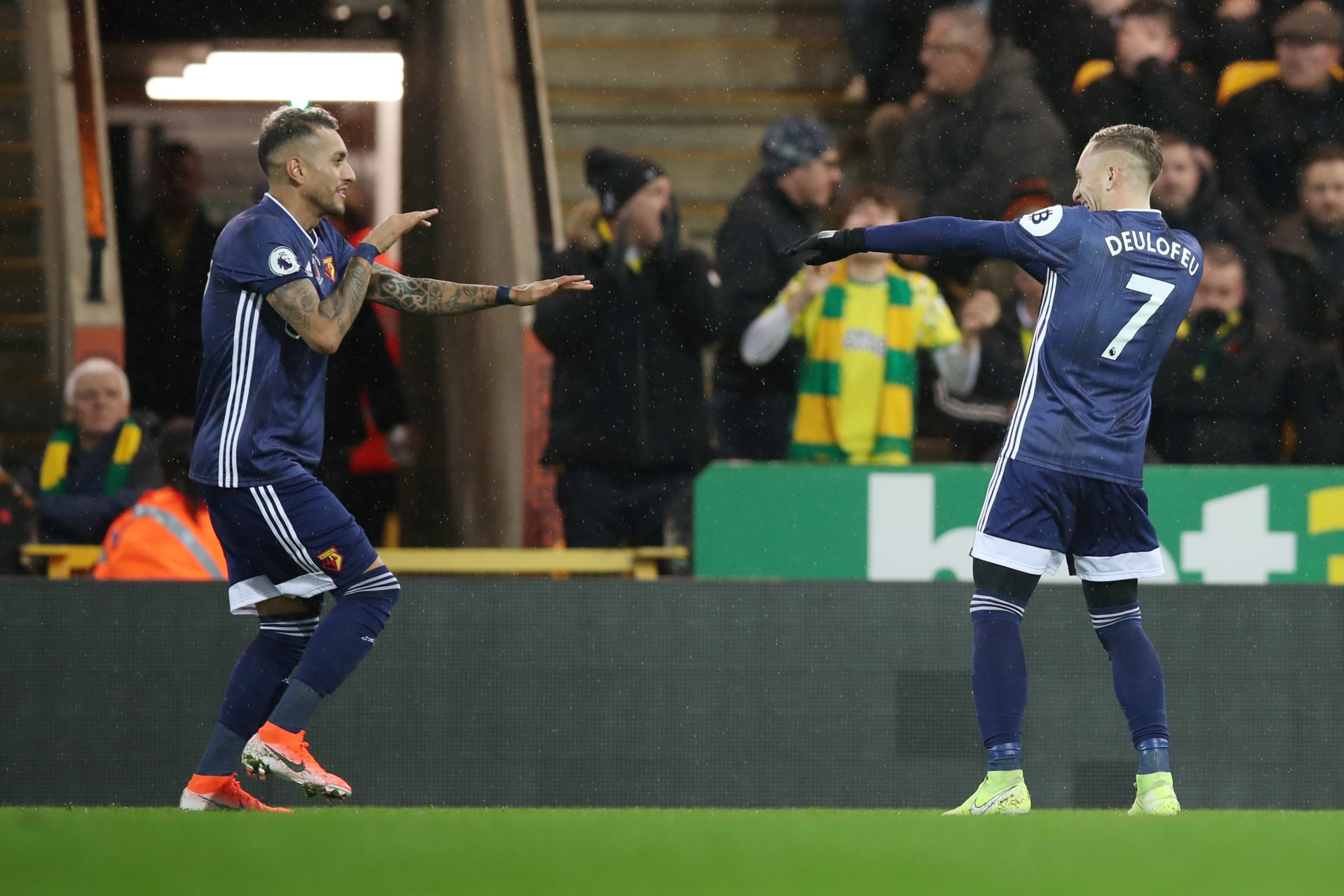Roberto Pereyra will not play for Argentina after an injury during Watford's win over Norwich City