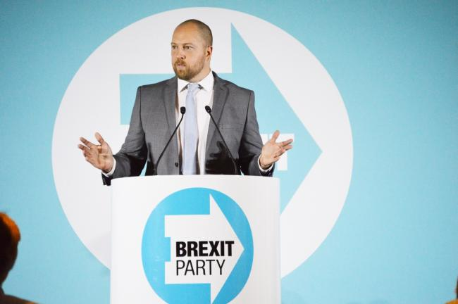 William Berry said he was not contacted by the Conservatives (photo credit Brexit Party)