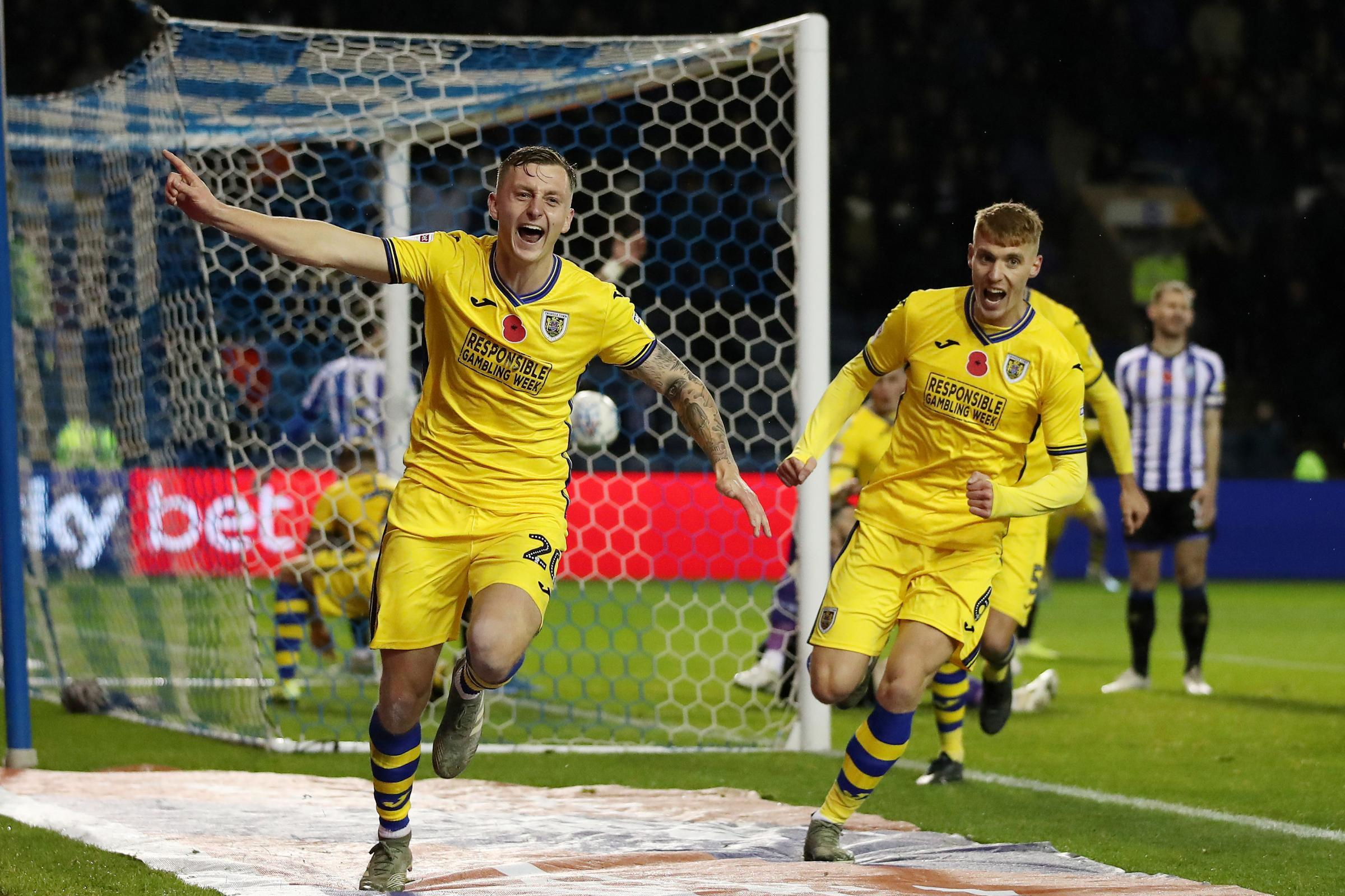 Watford's out-on-loan defender Ben Wilmot scored an equaliser for Swansea City at Sheffield Wednesday