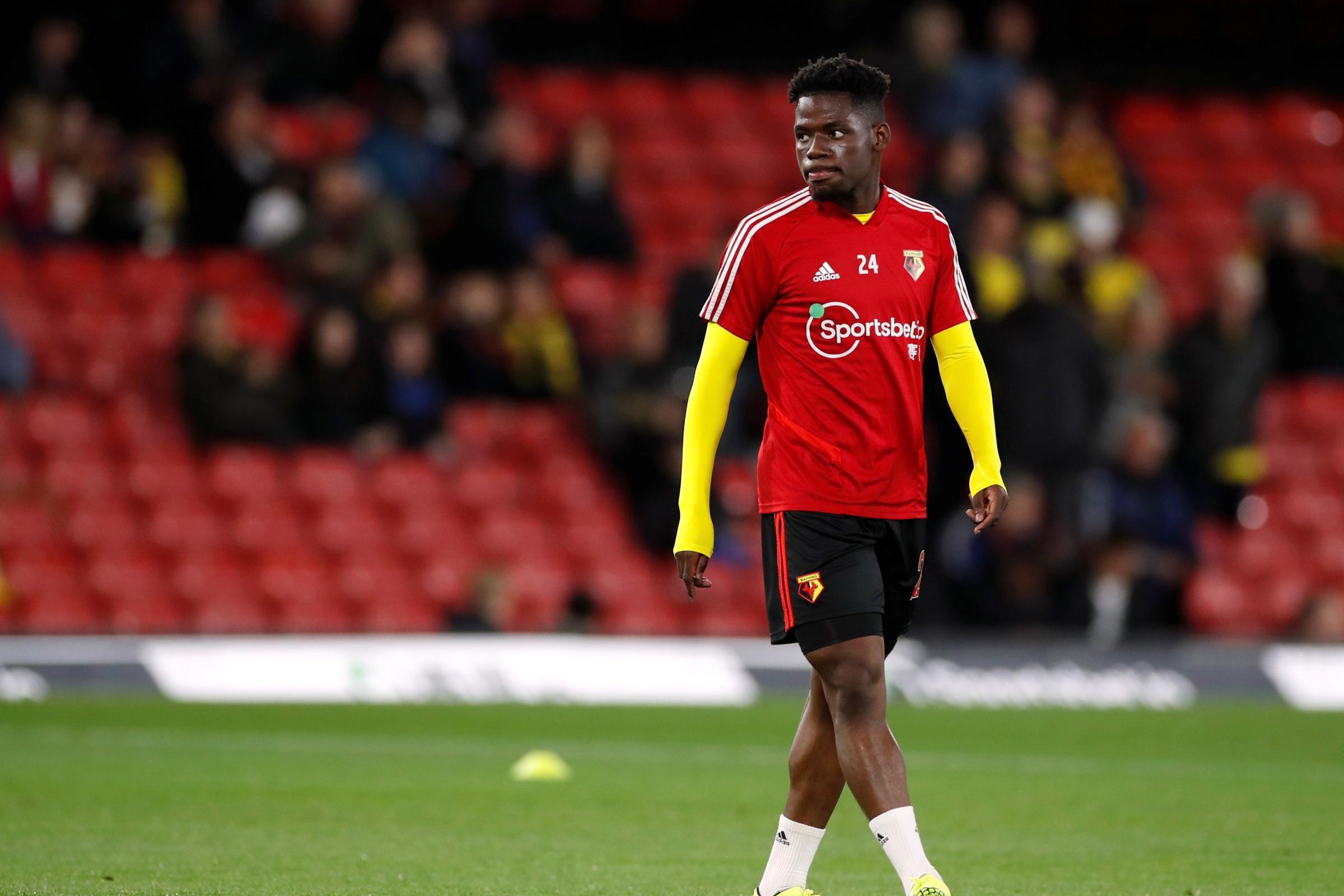 Watford's Tom Dele-Bashiru has his heart set on representing Nigeria at the Olympics