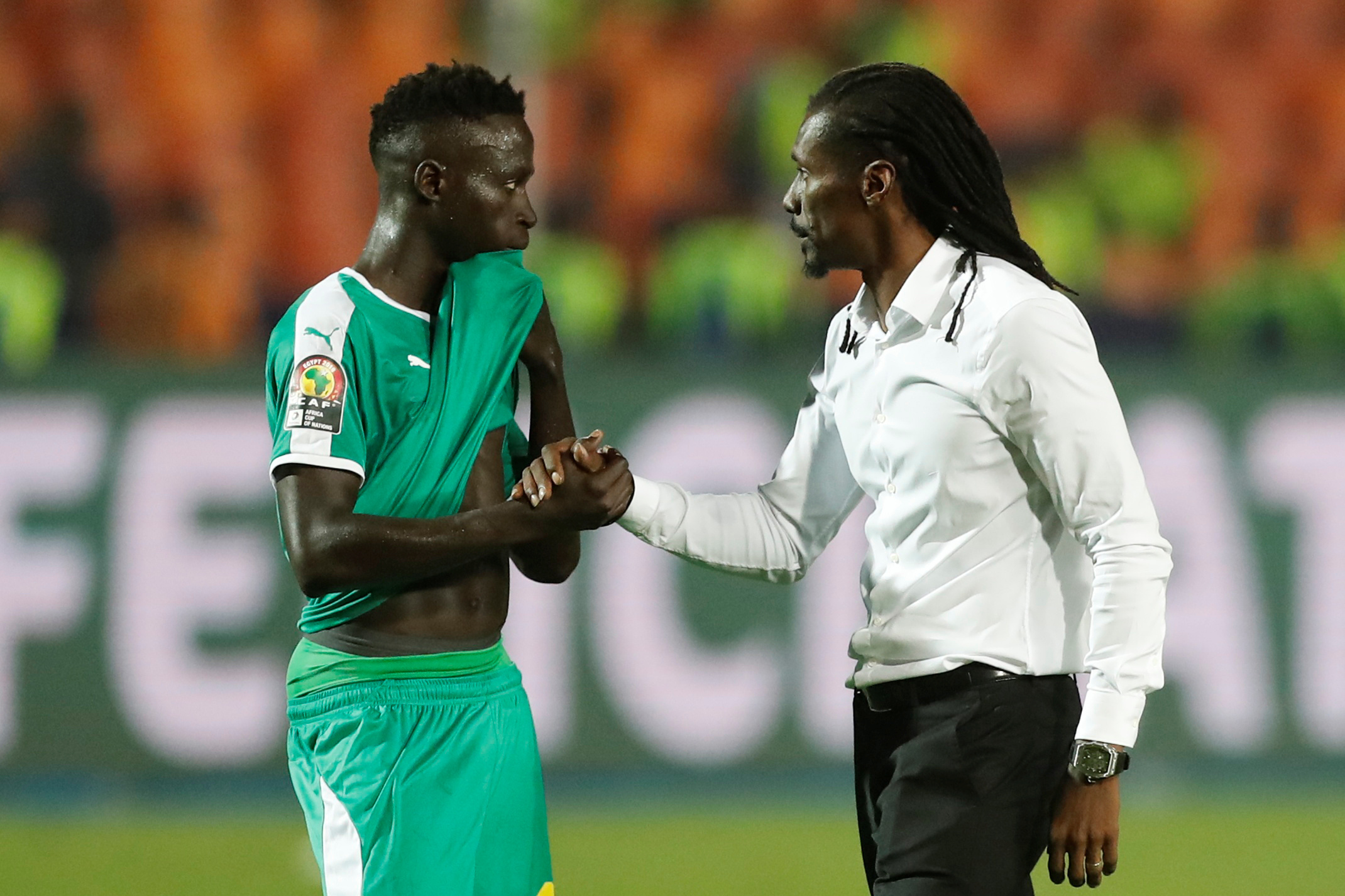 Senegal manager Aliou Cisse thinks Ismaila Sarr can adapt at Watford