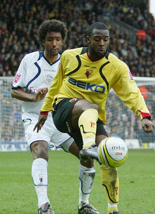 Watford striker Nathan Ellington scores twice for Preston North End Reserves