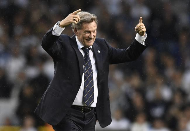 Glenn Hoddle thinks Watford have enough to stay in the Premier League. Picture: Action Images