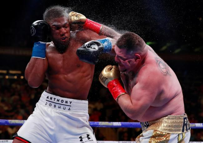 Anthony Joshua says he has 'learned a lot from the defeat' to Andy Ruiz Jr. Picture: Action Images