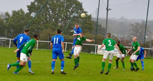 Oxhey Jets took a single point from their two league matches this week. Picture: Len Kerswill