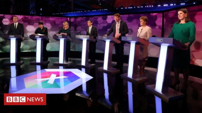 BBC News hosted the second major election debate of the 2019 campaign but Boris Johnson and Jeremy Corbyn stayed away