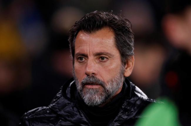 Quique Sanchez Flores saw the Hornets throw away a winning position at the interval. Picture: Action Images