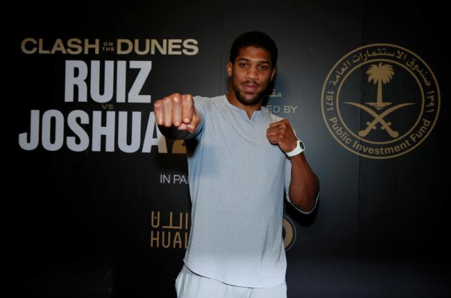 'There's nothing wrong with taking losses': Anthony Joshua. Picture: Action Images
