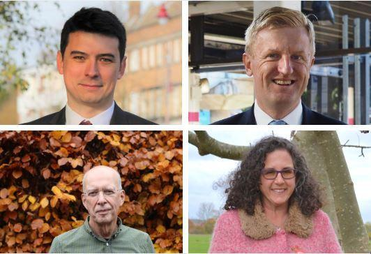 Hertsmere's parliamentary candidates are appealing for your votes ahead of the General Election