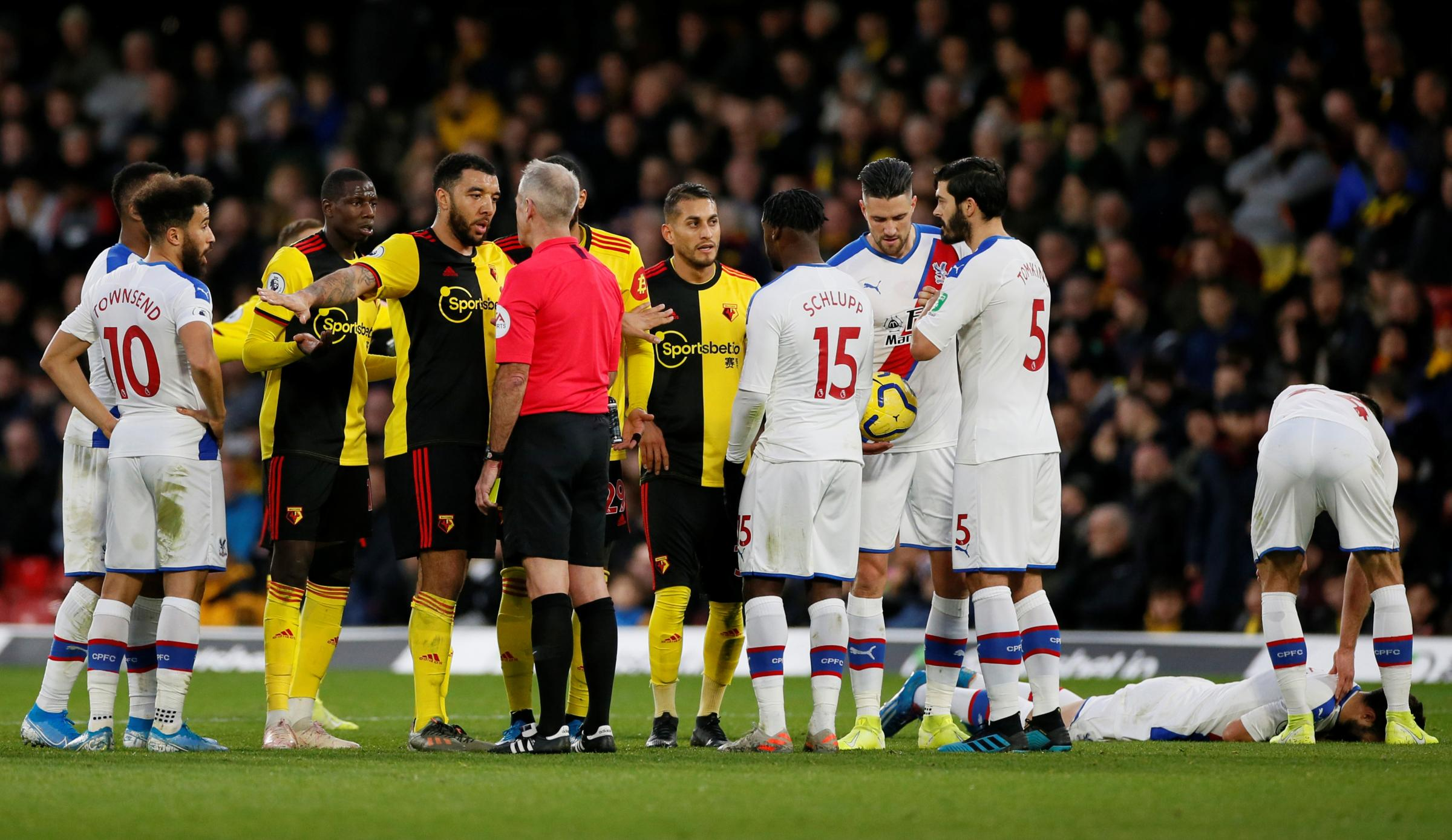 Relive our coverage of Watford's goalless draw with Crystal Palace