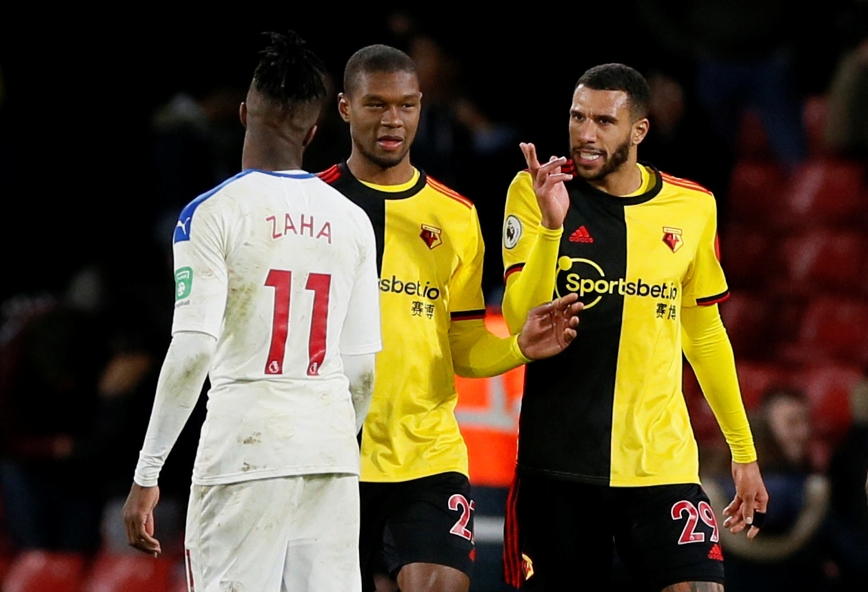 Watford held to goalless stalemate by Crystal Palace