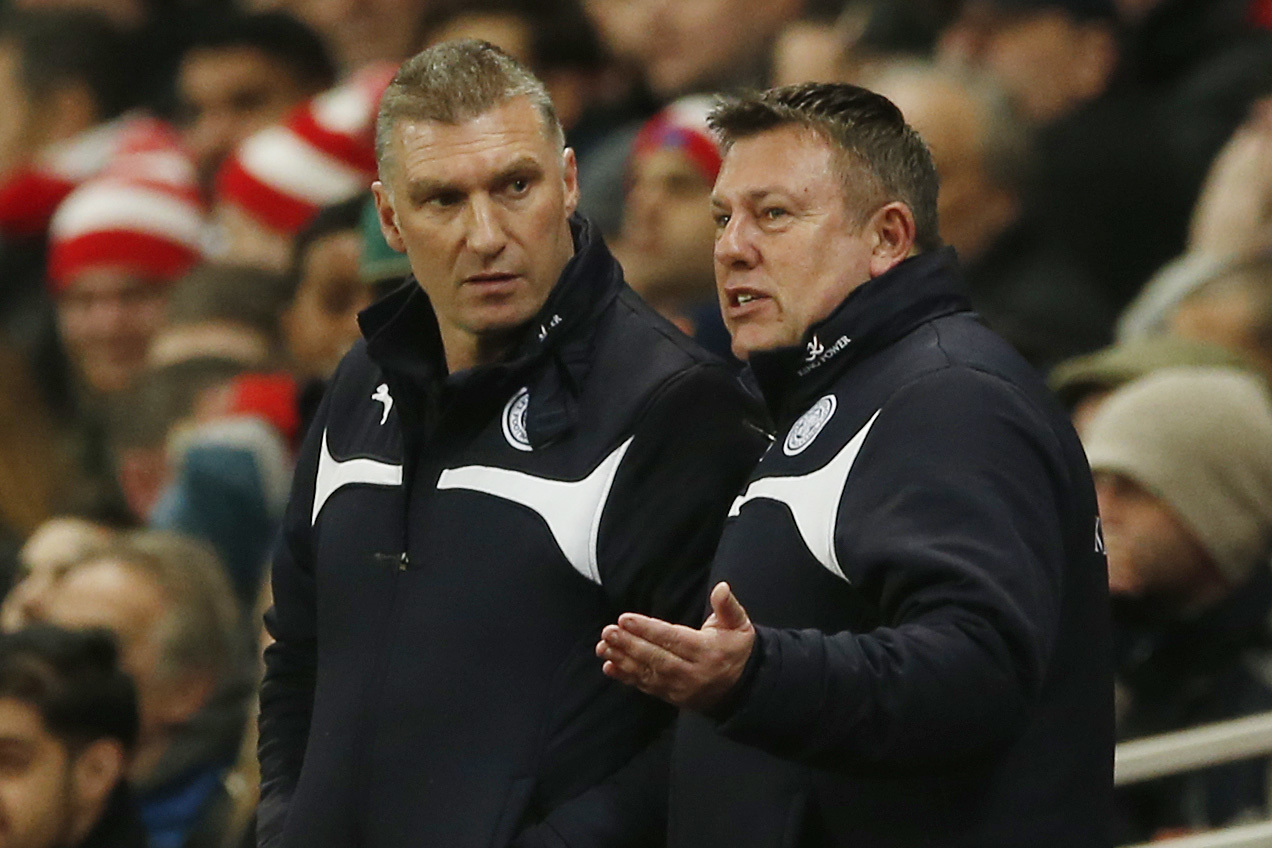 Nigel Pearson and Craig Shakespeare reunite at Watford