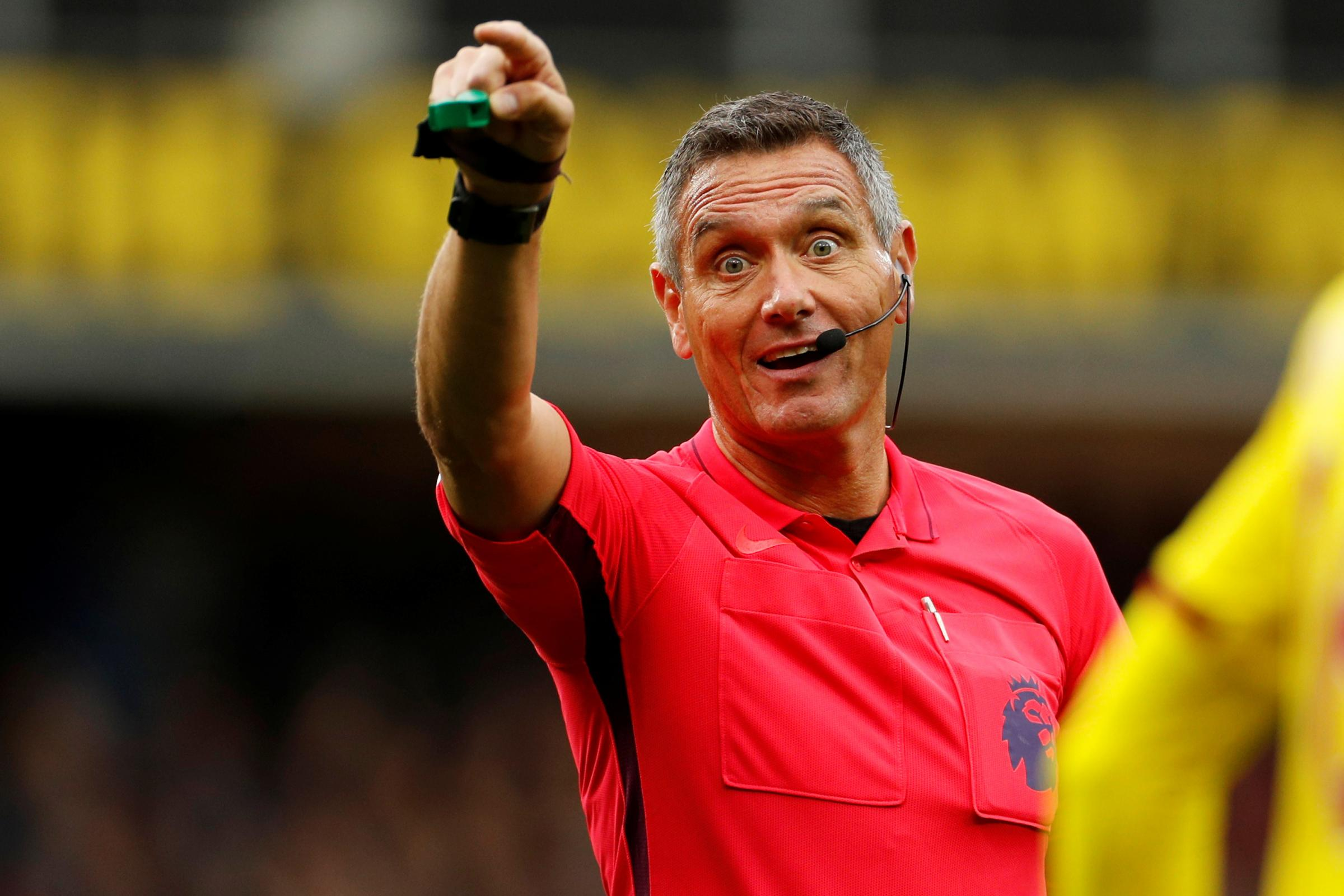 Andre Marriner to referee Watford's trip to Liverpool