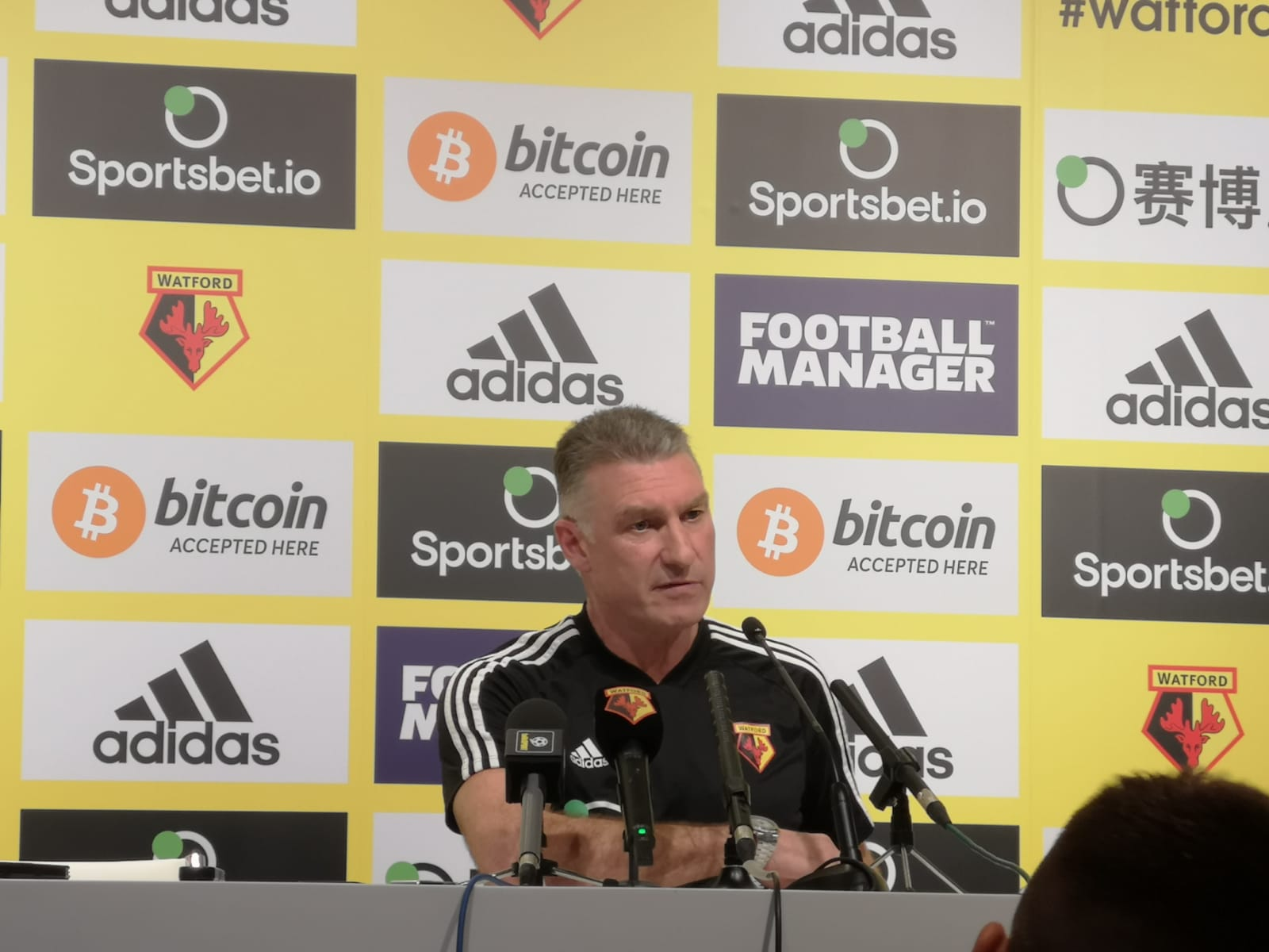 Nigel Pearson calls for a collective buy in from Watford players in search for Premier League safety