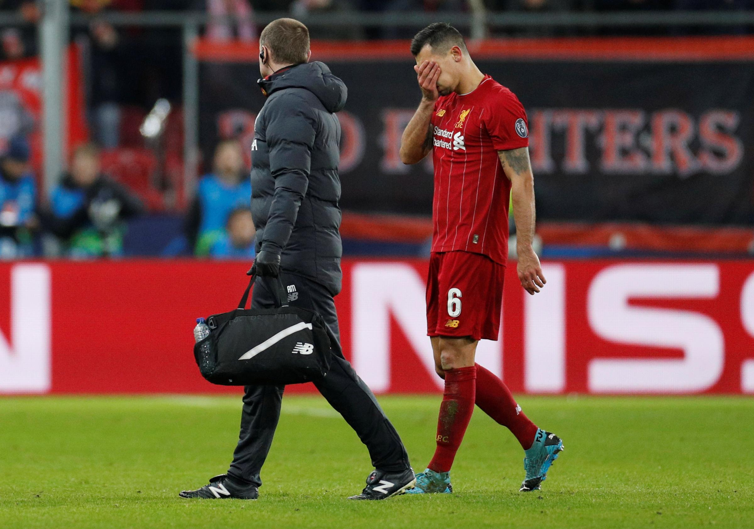 Dejan Lovren to miss Liverpool's clash with Watford due to hamstring injury