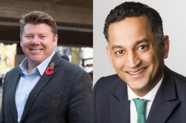 New MPs Dean Russell (Watford, Conservative) and Gagan Mohindra (South West Herts, Conservative). Photo: UGC