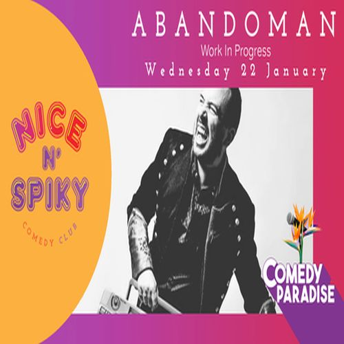 Comedy Paradise Presents Abandoman