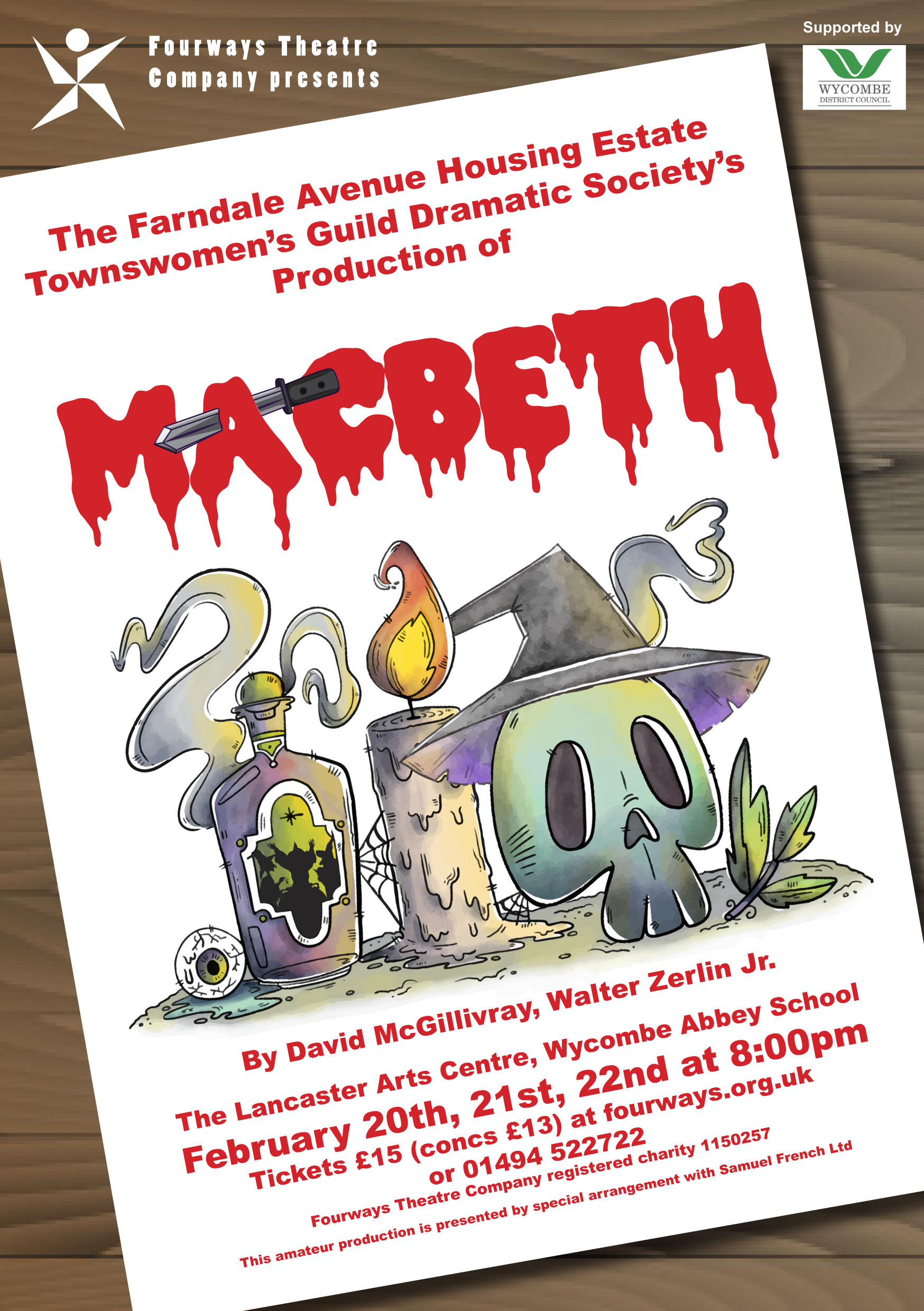 Fourways Presents                                                           The Farndale Avenue Housing Estate Townswomen's Guild Dramatic Society's Production of Macbeth