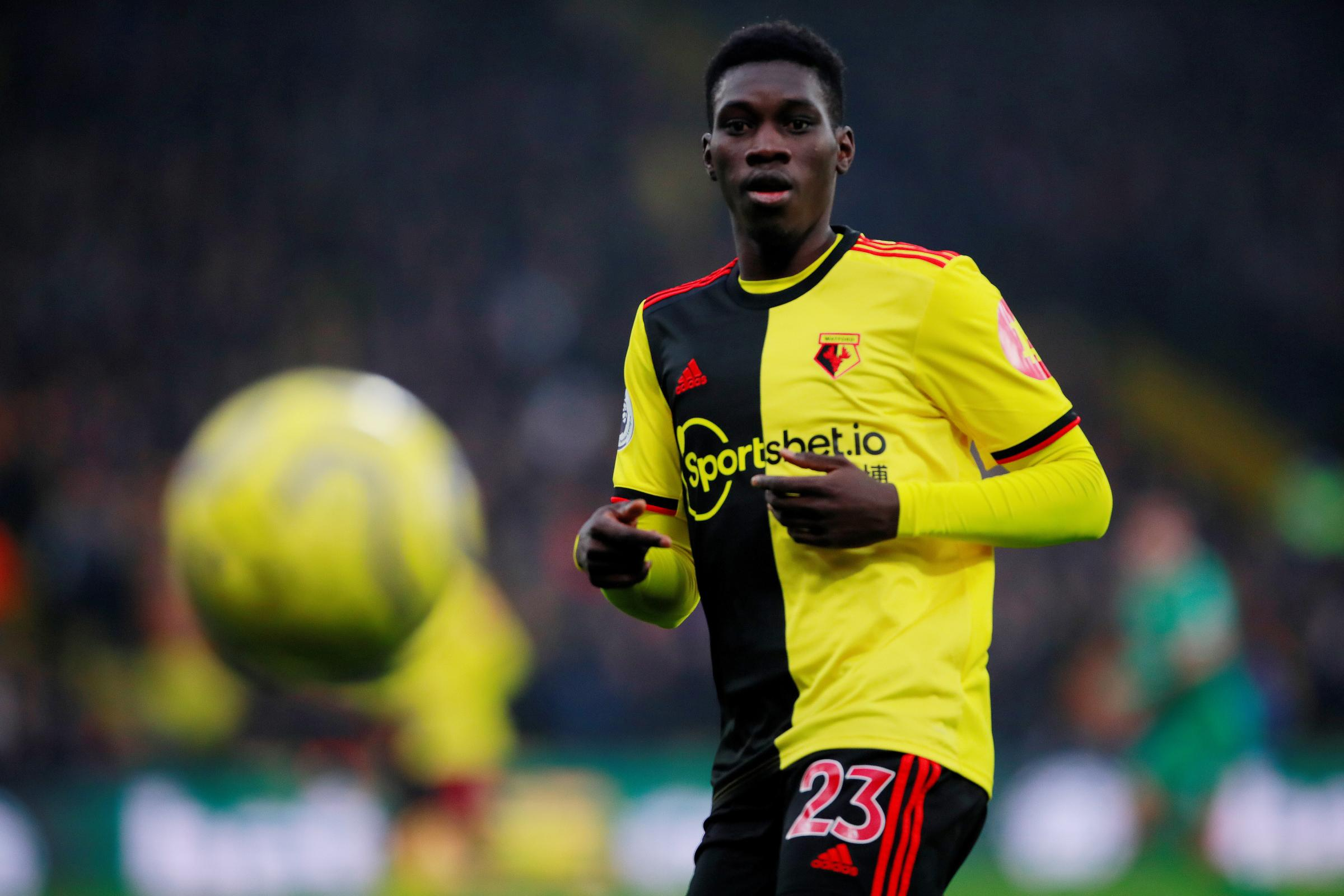 Ismaila Sarr claims he would be happy to play for Watford in the Championship