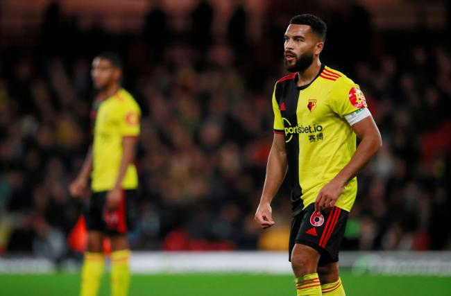 Adrian Mariappa has tested positive for coronavirus. Picture: Action Images