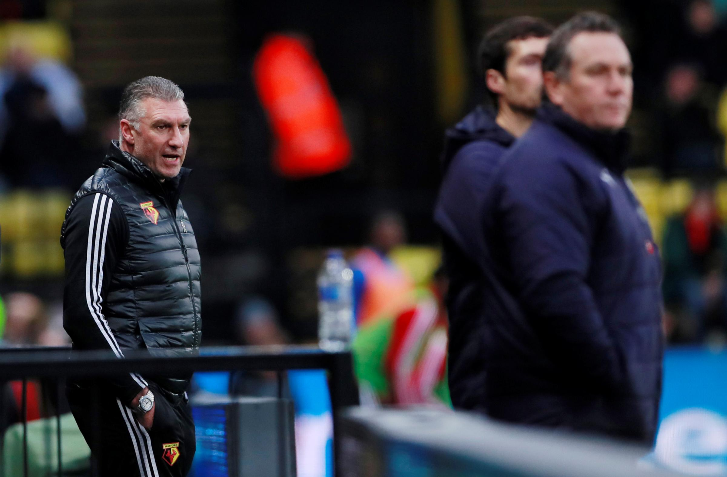 Nigel Pearson thinks expectation could help Watford beat Tranmere Rovers in the FA Cup