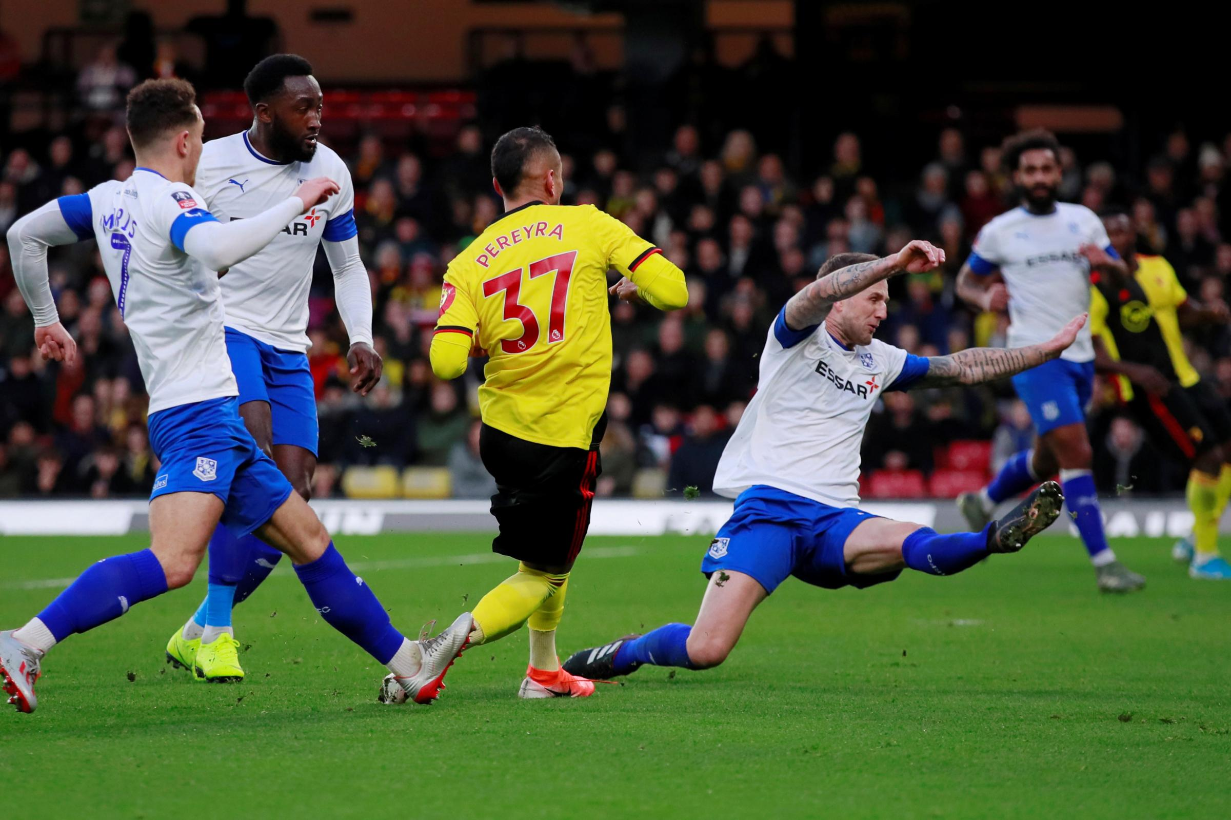 Watford's FA Cup replay at Tranmere Rovers rearranged for Thursday, January 23