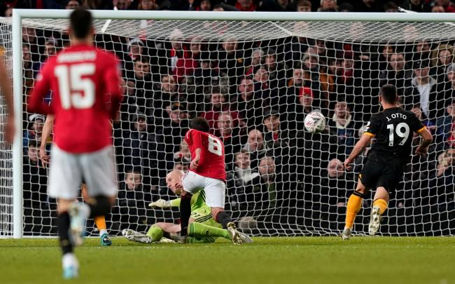 Juan Mata's goal secured Manchester United a fourth round trip to either Vicarage Road or Prenton Park. Picture: Action Images