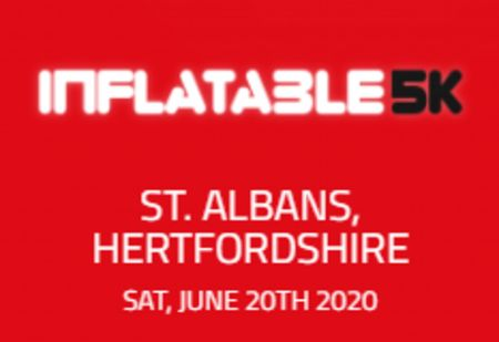 Inflatable 5k Obstacle Course Run - St. Albans