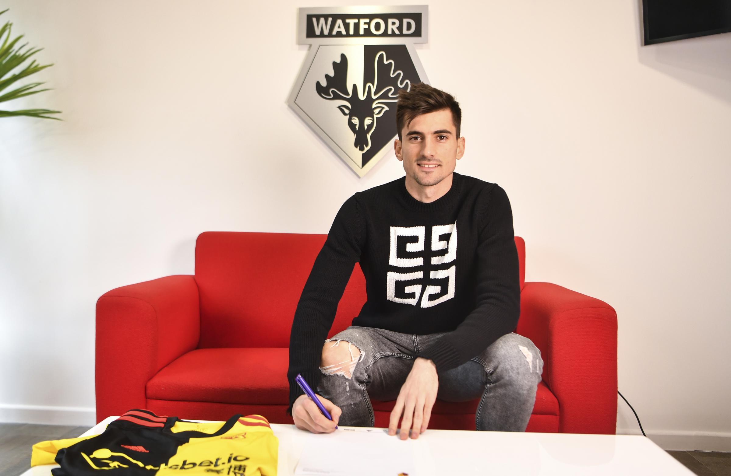 New Watford signing Ignacio Pussetto could feature against Tottenham Hotspur