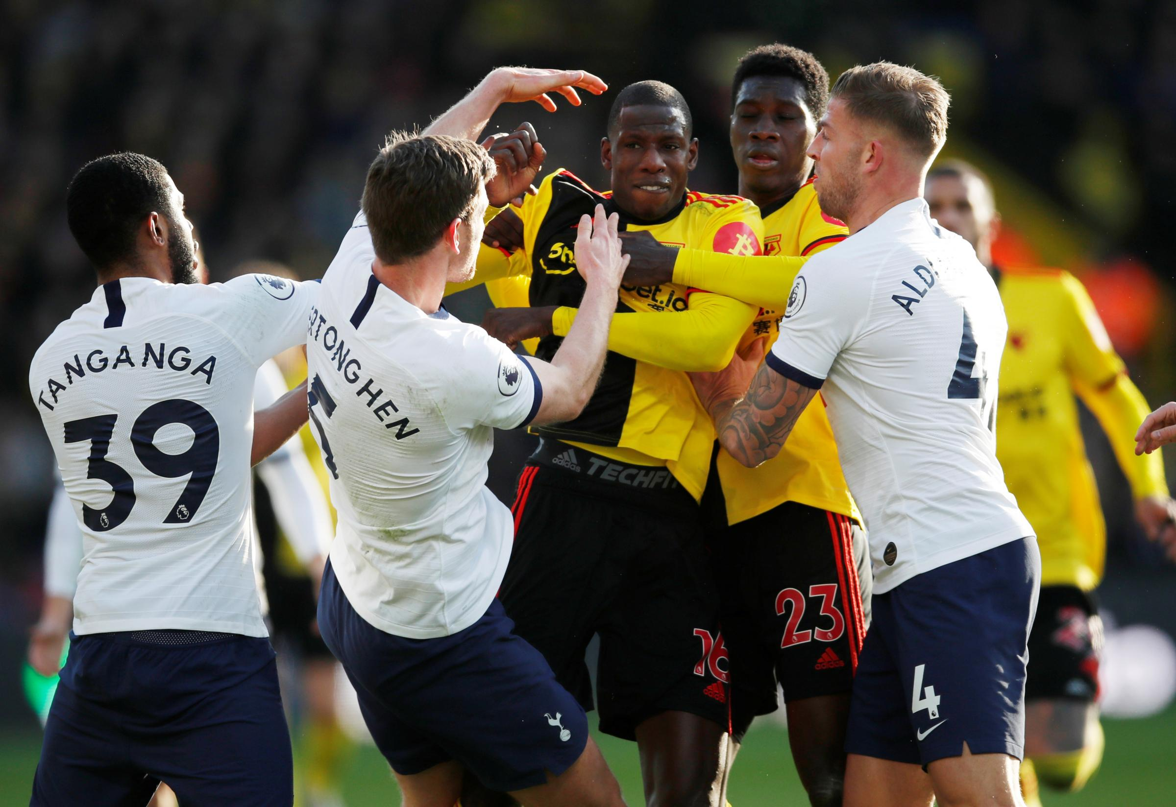 Watford continue push for survival with point against Tottenham Hotspur