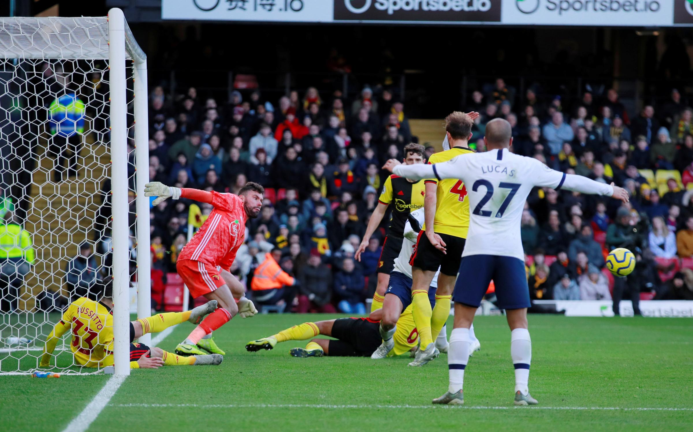 Watford and Tottenham Hotspur share spoils in Premier League draw
