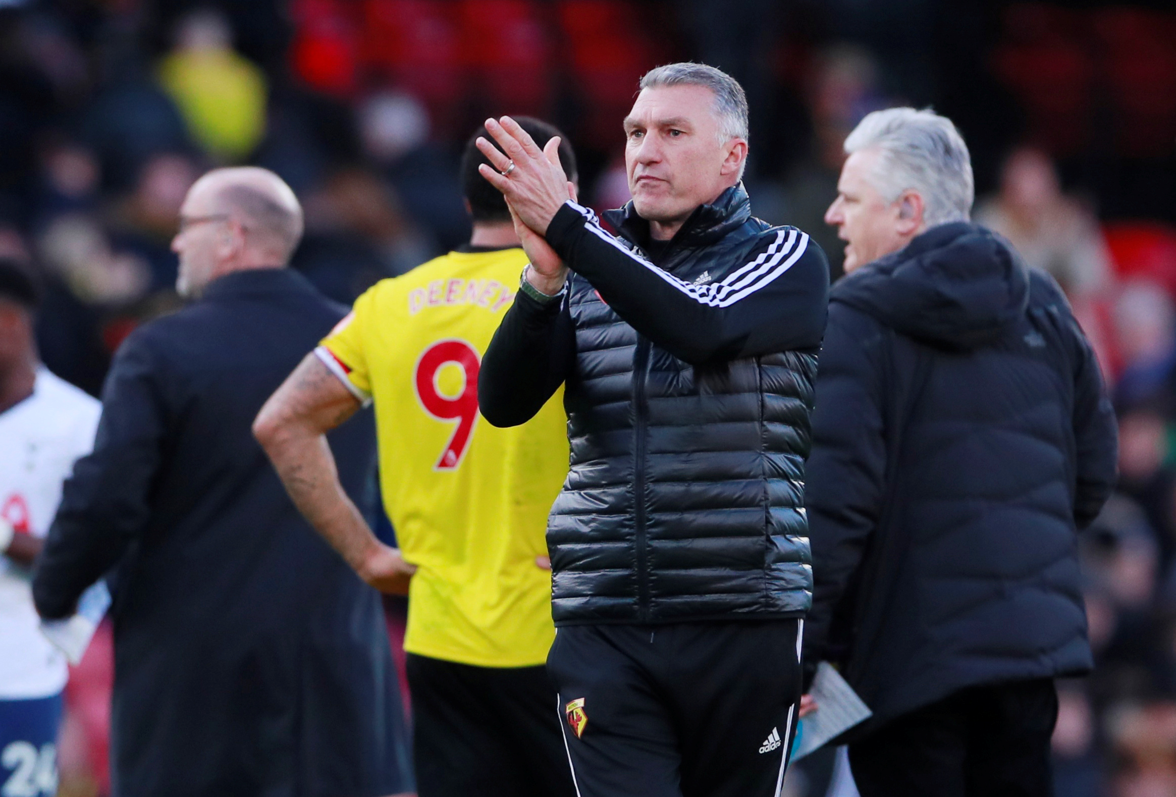 Nigel Pearson says Watford deserve 'incredible credit' for performance in Tottenham Hotspur draw