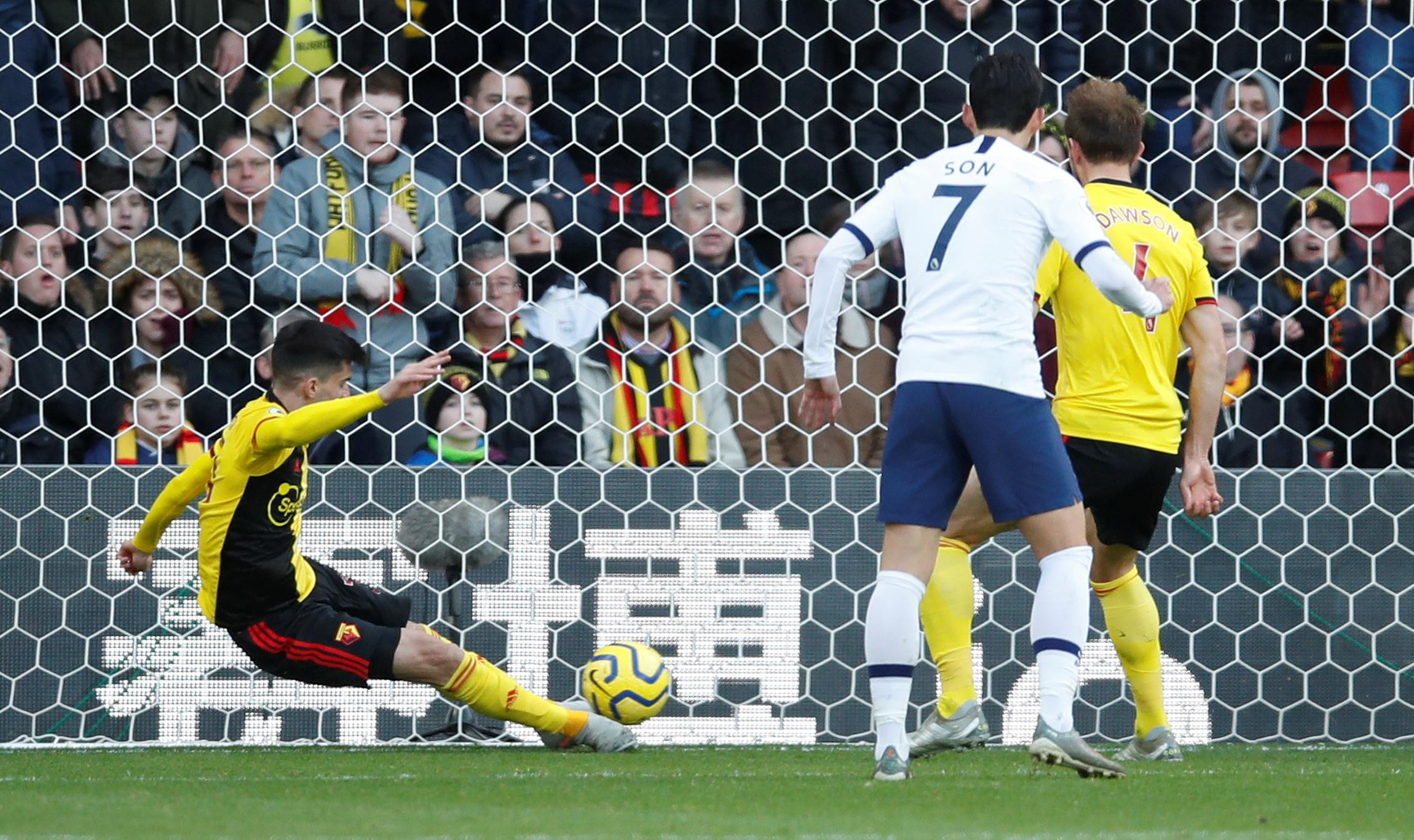 Craig Dawson praises new Watford signing Ignacio Pussetto for Tottenham Hotspur clearance